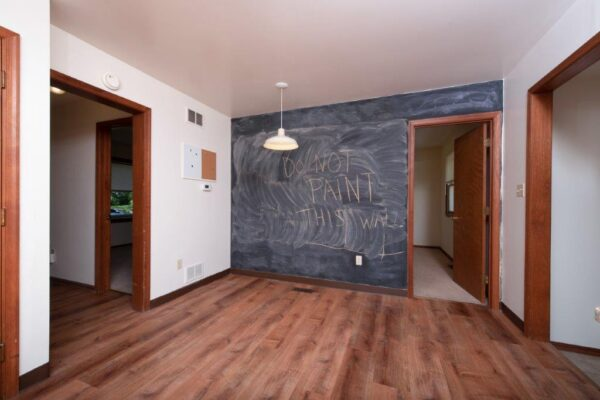117 Tyre Ave Chalkboard Wall