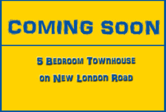 New London Road Townhouse Coming Soon Graphic