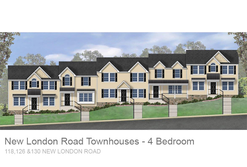 4BR New London Road Townhouses